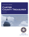 LaDONNA WILKINSON, COUNTY TREASURER CARTER COUNTY, OKLAHOMA TREASURER STATUTORY REPORT JULY 29,...