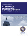 COMMUNITY AMBULANCE SERVICE DISTRICT OPERATIONAL AUDIT FOR THE PERIOD JULY 1, 2008 THROUGH JUNE...