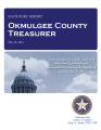 VONNA LAMPKINS, COUNTY TREASURER OKMULGEE COUNTY, OKLAHOMA TREASURER STATUTORY REPORT MAY 25, 2012