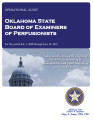 Audit report of the Oklahoma Board of Examiners of Perfusionists