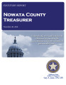 County Treasurer, Nowata County, Oklahoma Treasurer statutory report