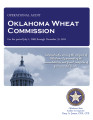 Audit Report of the Oklahoma Wheat Commission For the Period July 1, 2009 through December 31, 2011
