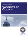 WOODWARD COUNTY OPERATIONAL AUDIT FOR THE PERIOD JULY 1, 2009 THROUGH JUNE 30, 2011