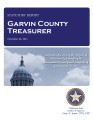 SANDY GOGGANS, COUNTY TREASURER GARVIN COUNTY, OKLAHOMA TREASURER STATUTORY REPORT DECEMBER 30,...
