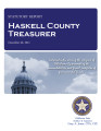 GALE DIXON, COUNTY TREASURER HASKELL COUNTY, OKLAHOMA TREASURER STATUTORY REPORT DECEMBER 30, 2011