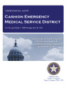 CASHION EMERGENCY MEDICAL SERVICE DISTRICT OPERATIONAL AUDIT FOR THE PERIOD JULY 1, 2008 THROUGH...