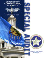 Coal County Commissioner, District 1, Coal County Oklahoma, special audit report.