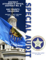 District Attorney's office, District 8, Kay County Oklahoma, special audit report.