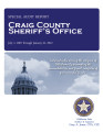 CRAIG COUNTY SHERIFF'S OFFICE SPECIAL AUDIT REPORT JULY 1, 2007 THROUGH JANUARY 31, 2012