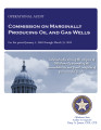 Audit Report of the Commission on Marginally Producing Oil and Gas Wells For the Period January 1,...