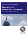 Bryan County ambulance authority, EMS agreed-upon procedures report.