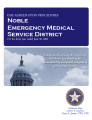 Noble County emergency medical service district, EMS agreed-upon procedures.