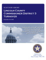 County officer turnover statutory report, Lincoln County Commissioner District 3.