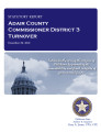 County officer turnover statutory report, Adair County Commissioner District 3.