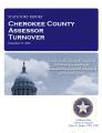County officer turnover statutory report, Cherokee County Assessor.