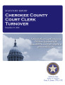County officer turnover statutory report, Cherokee County Court clerk.