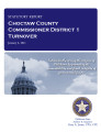 County officer turnover statutory report, Choctaw County Commissioner District 1.