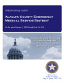 ALFALFA COUNTY EMERGENCY MEDICAL SERVICE DISTRICT OPERATIONAL AUDIT FOR THE PERIOD JANUARY 1, 2009...