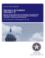 FRED C. SMITH, DISTRICT ATTORNEY DISTRICT 5 STATUTORY REPORT BOGUS CHECK RESTITUTION PROGRAM...