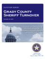 COUNTY OFFICER TURNOVER STATUTORY REPORT ART KELL GRADY COUNTY SHERIFF DECEMBER 20, 2012
