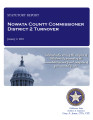 COUNTY OFFICER TURNOVER STATUTORY REPORT DEAN BRIDGES NOWATA COUNTY COMMISSIONER DISTRICT 2...