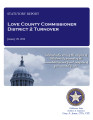 COUNTY OFFICER TURNOVER STATUTORY REPORT MICHAEL WHITE LOVE COUNTY COMMISSIONER DISTRICT 2 JANUARY...