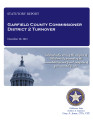 COUNTY OFFICER TURNOVER STATUTORY REPORT MIKE POSTIER GARFIELD COUNTY COMMISSIONER DISTRICT 2...