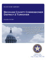 COUNTY OFFICER TURNOVER STATUTORY REPORT CARL SIMON BECKHAM COUNTY COMMISSIONER DISTRICT...