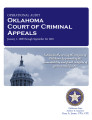 Audit report of the Oklahoma Court of Criminal Appeals.