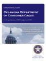 Audit report of the Oklahoma Department of Consumer Credit.