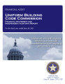 Uniform Bldg Code Comm Fy 2011 1