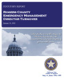 ROGERS COUNTY EMERGENCY MANAGEMENT ROGERS COUNTY, OKLAHOMA TURNOVER REPORT JANUARY 31, 2013