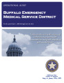 BUFFALO EMERGENCY MEDICAL SERVICE DISTRICT OPERATIONAL AUDIT FOR THE PERIOD JULY 1, 2009 THROUGH...