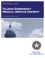 TILLMAN COUNTY EMERGENCY MEDICAL SERVICE DISTRICT OPERATIONAL AUDIT FOR THE FISCAL YEAR ENDED JUNE...