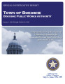 TOWN OF BOKOSHE BOKOSHE PUBLIC WORKS AUTHORITY SPECIAL INVESTIGATIVE REPORT JANUARY 1, 2010...