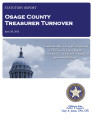 COUNTY OFFICER TURNOVER STATUTORY REPORT JOYCE HATHCOAT OSAGE COUNTY TREASURER JUNE 28, 2013