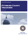 DONNA SCRIVNER, COUNTY TREASURER PITTSBURG COUNTY, OKLAHOMA TREASURER STATUTORY REPORT MARCH 29,...