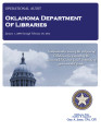 Audit Report of the Oklahoma Department of Libraries For the Period January 1, 2009 through...