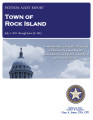 TOWN OF ROCK ISLAND PETITION AUDIT REPORT JULY 1, 2011 THROUGH JUNE 30, 2013