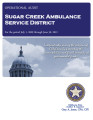 SUGAR CREEK AMBULANCE SERVICE DISTRICT OPERATIONAL AUDIT FOR THE PERIOD JULY 1, 2009 THROUGH JUNE...