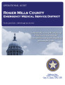 ROGER MILLS COUNTY EMERGENCY MEDICAL SERVICE DISTRICT OPERATIONAL AUDIT FOR THE PERIOD JULY 1,...
