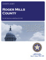 ROGER MILLS COUNTY, OKLAHOMA FINANCIAL STATEMENT AND INDEPENDENT AUDITOR'S REPORT FOR THE FISCAL...
