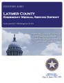LATIMER COUNTY EMERGENCY MEDICAL SERVICE DISTRICT STATUTORY REPORT FOR THE PERIOD JULY 1, 2009...