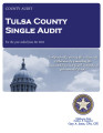 TULSA COUNTY, OKLAHOMA SCHEDULE OF EXPENDITURES OF FEDERAL AWARDS AND INDEPENDENT AUDITOR'S REPORT...