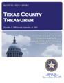 TEXAS COUNTY TREASURER INVESTIGATIVE REPORT DECEMBER 1, 2008 THROUGH SEPTEMBER 30, 2009