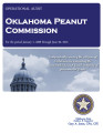 Audit Report of the Oklahoma Peanut Commission For the Period January 1, 2008 through June 30, 2013