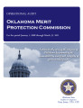 Audit Report of the Oklahoma Merit Protection Commission.
