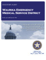 WAURIKA EMERGENCY MEDICAL SERVICE DISTRICT STATUTORY REPORT FOR THE YEAR ENDED JUNE 30, 2014