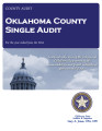 SINGLE AUDIT REPORT OKLAHOMA COUNTY, OKLAHOMA FOR THE FISCAL YEAR ENDED JUNE 30, 2014