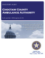 CHOCTAW COUNTY AMBULANCE AUTHORITY STATUTORY REPORT FOR THE PERIOD JULY 1, 2008 THROUGH JUNE 30,...